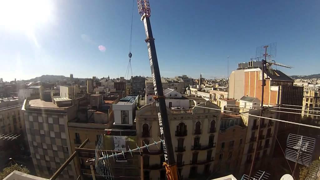 Colocaci n m dulos de la casa por el tejado en barcelona - La casa por el tejado ...