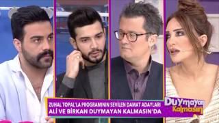 Zuhal Topal'la Programında Yakışıklı Damat Adayları Ali ve Birkan Duymayan Kalmasın'da Full HD
