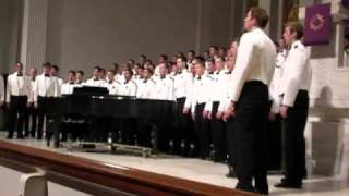 The Navy Hymn - USNA Glee Club March 14, 2011