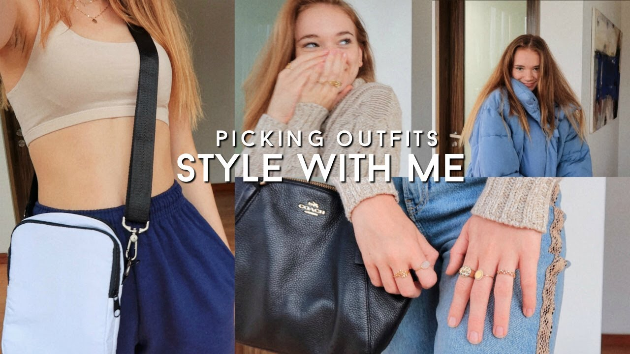 Style with Me! Winter Outfit Ideas 8