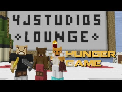 Minecraft Xbox 360 Edition: 4j Studios Lounge Hunger Games Map With Download