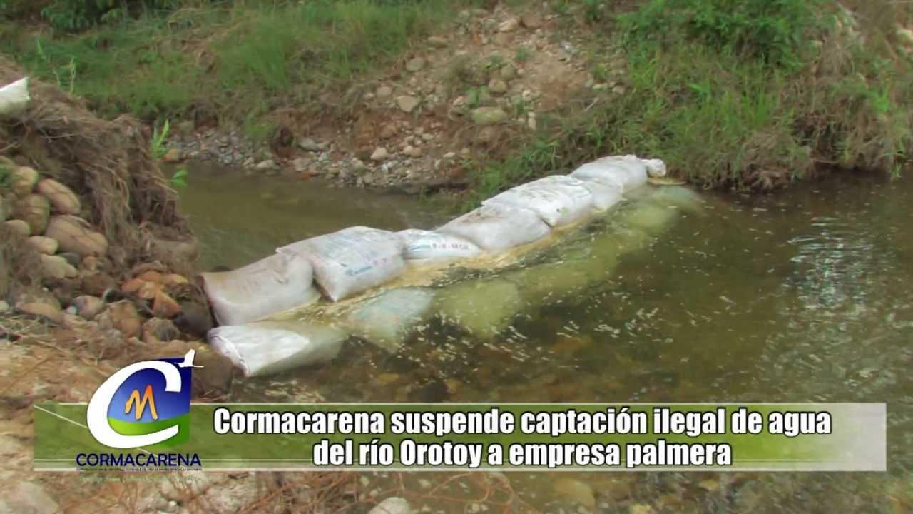 Nota suspenden captaci n de agua del r o youtube for Toma de agua
