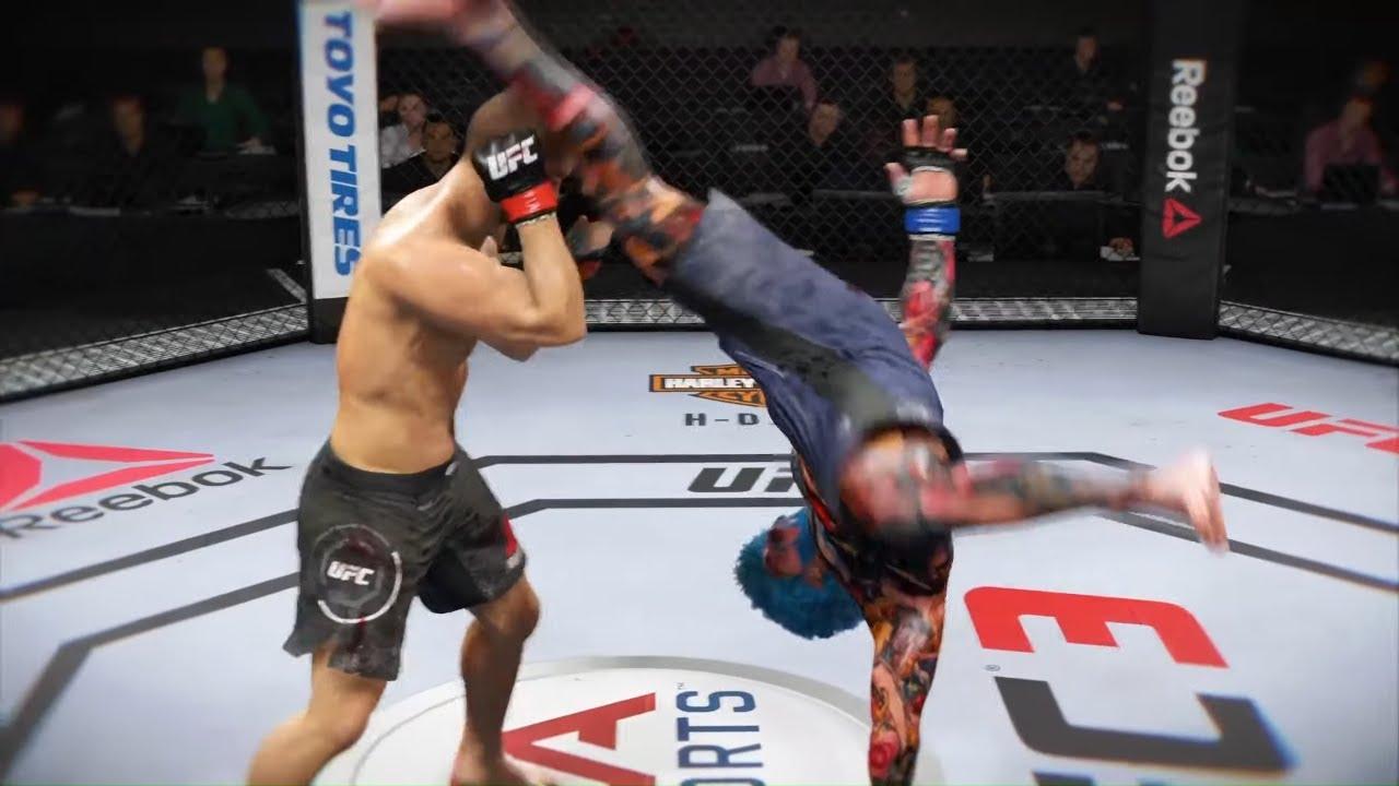 Khabib vs. Bushmen - EA Sports UFC 3