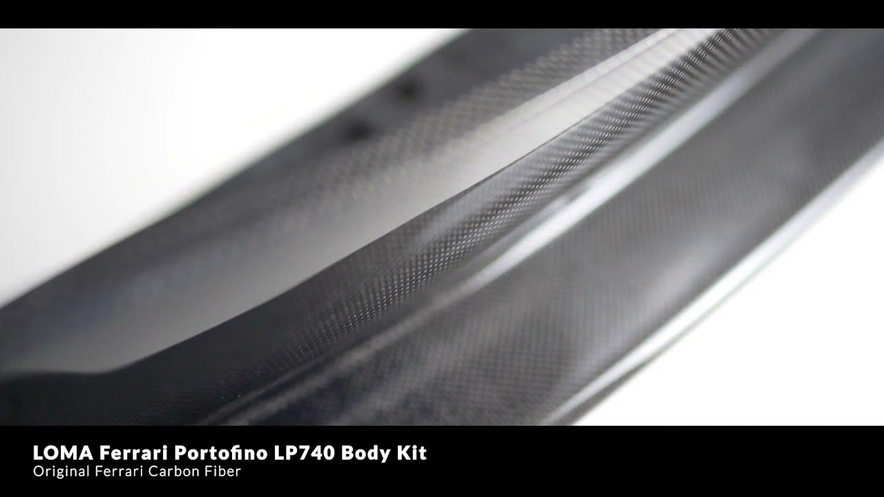 Ferrari Portofino Carbon Body Kit Video.