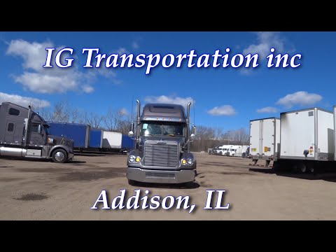 IG Transportation Inc /Работа водителем/ Обучение на CDL