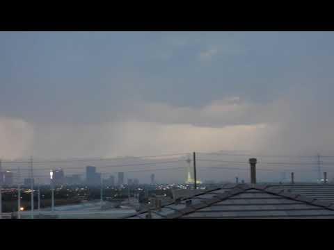 Llovió en Las