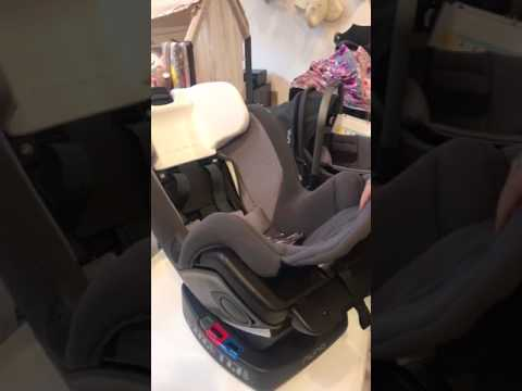 How to Remove Fabric from Nuna Rava Car seat