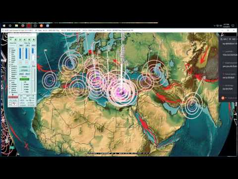 7/27/2017 -- Forecast hits -- New flurry of M5.9 earthquakes = New Seismic unrest event underway