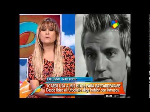 Maxi López: Icardi no me deja hablar con mis hijos
