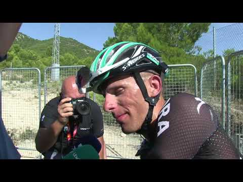 Rafal Majka - post-race interview - Stage 8 - Tour of Spain