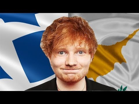 Ed Sheeran - Shape of You (Cyprus Greek Parody)