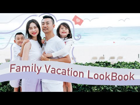 family-tropical-vacation-lookbook-|-travel-with-me-to-cancun
