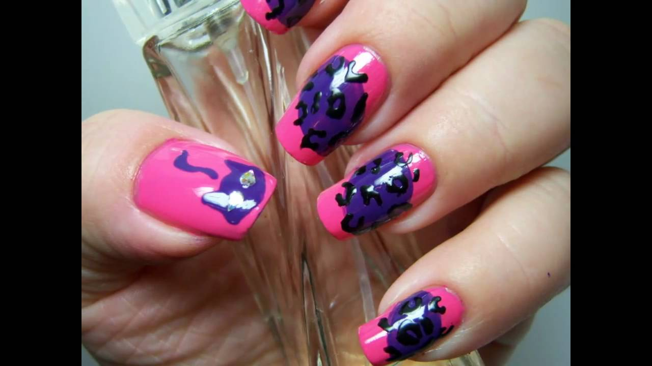 Katy Perrys Purr Fragrance Nail Inspired Design Youtube