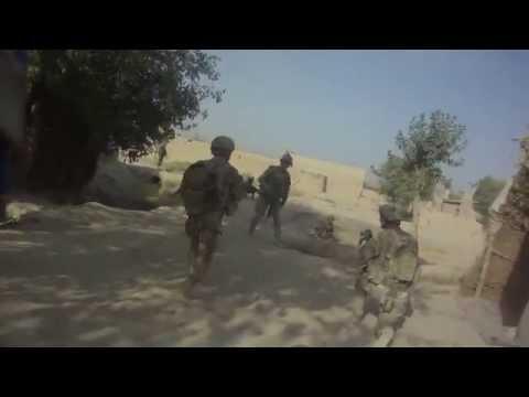West Doab Firefight. Panjwai Afghanistan.