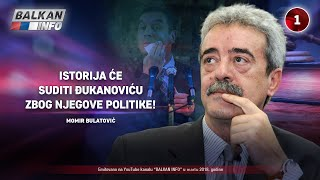 INTERVJU: Momir Bulatović - Istorija će suditi Milu Đukanoviću zbog njegove politike! (05.03.2018)