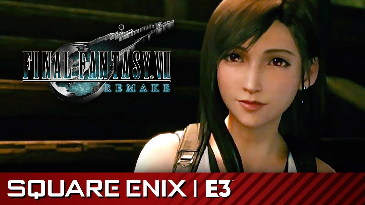 Final Fantasy VII Remake Extended Release Date Trailer (with Audience) |  Square Enix E3 2019