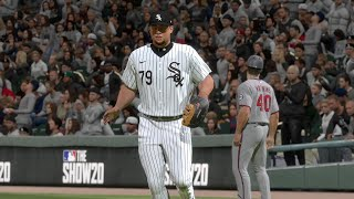 MLB Today 7/24 - Minnesota Twins vs Chicago White Sox Full Game Highlights (MLB The Show 20)