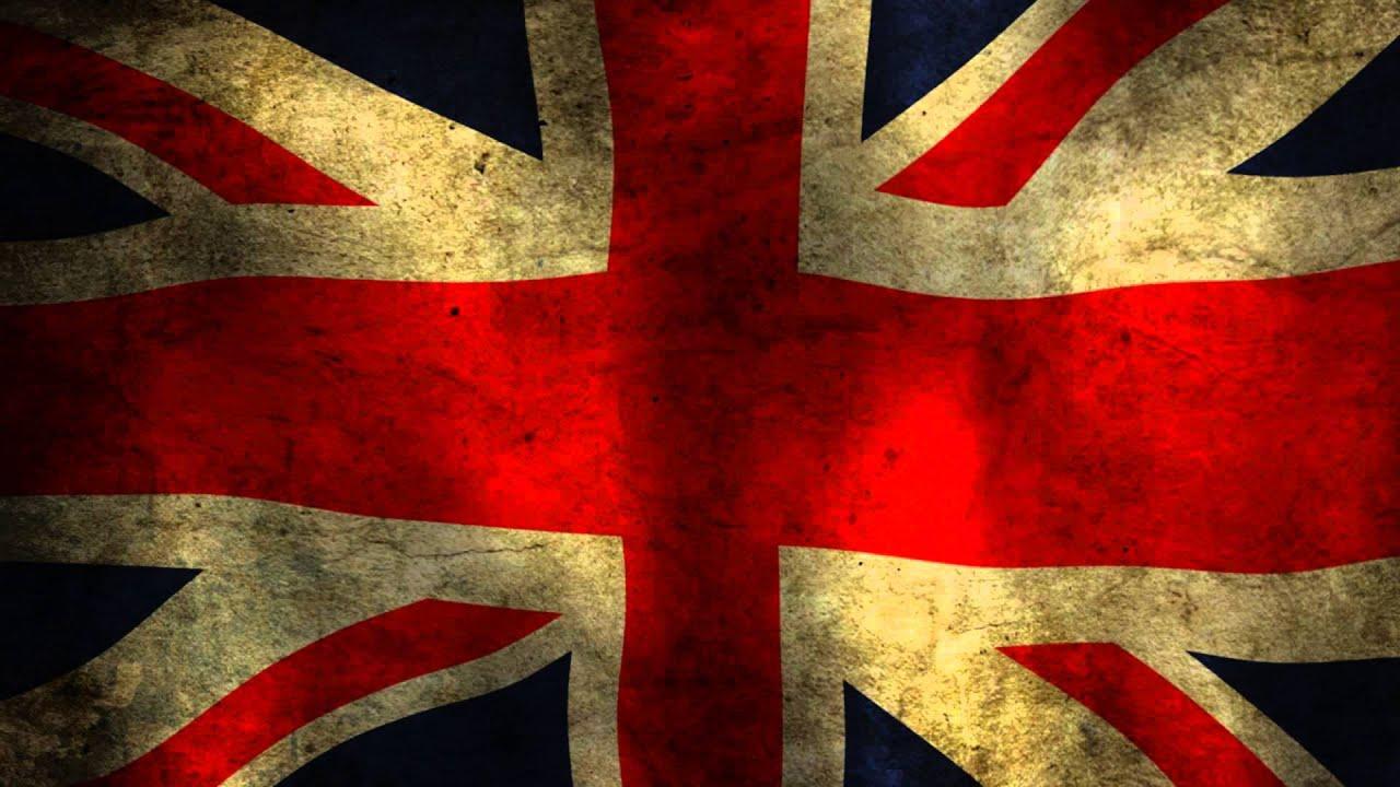 british grundgy flag waving - YouTube
