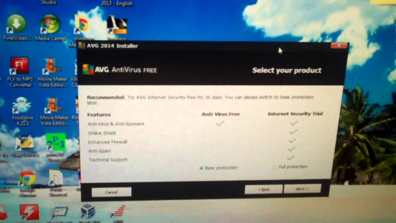 Some tips for installing & updating AVG Antivirus Free