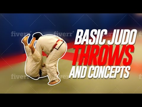 Basic Judo throws and concepts