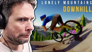 Lonely Mountais: Downhill - MOUNTAIN BIKE SIMULATOR (Gameplay em Português PT-BR) #LonelyMountains