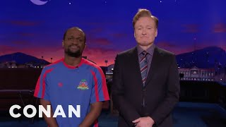 Conan Thanks The People Of Haiti For Their Hospitality  - CONAN on TBS