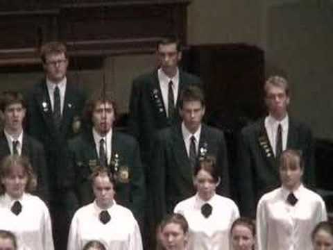 The Lord Bless You and Keep You (John Rutter) SATB