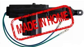 Ремонт электропривода центрального замка(Made in Home. В этом видео покажу, как я разобрал и отремонтировал старый привод центрального замка., 2015-07-05T20:26:28.000Z)