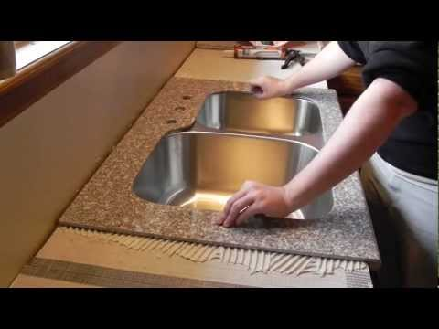 Lazy Granite Kitchen Countertop Installation Video