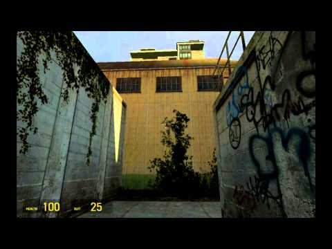 Half-Life 2 ( Android ) Mobile Walkthrough Part 1 Point Insertion - Route Kanal