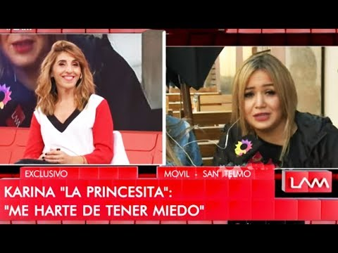 """Los ángeles de la mañana - Programa 060519 - Móvil con Karina """"La Princesita"""""""