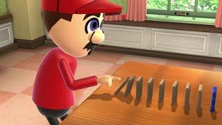 Wii Party U Minigame Battle - Mario vs Matt vs Andre vs Sophia thumbnail