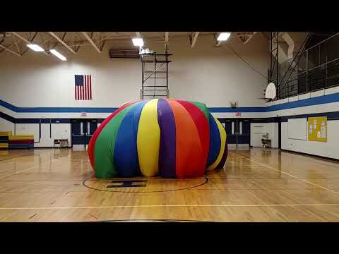 Parachute Games - Teamwork and Cooperation