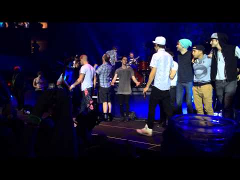 The Wanted's final concert on the WOM tour part 2 5/17/14