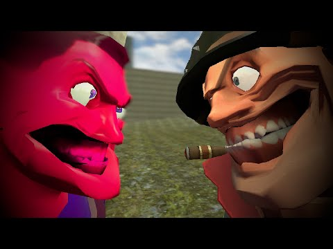 (Gmod) SomeCleanTrash vs Uncle Crusty