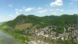 Bonn: Visit The River Rhine Drachenfels Drachenburg | Good Old Germany | Beautiful HD FPV