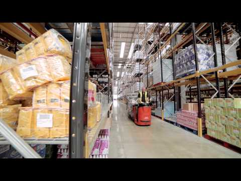 How To Store Food  - The Co-operative Food Derbyshire Distribution Centre