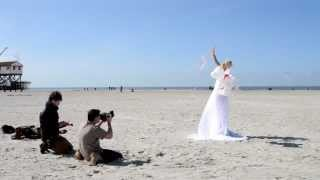 Bride On The Beach Photoshooting - Making Of with Steve Kay