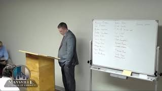 Christian Evidences   How We Got the Bible   Inspiarations and Proofs   Part 2   Ryan Smallwood   Ju