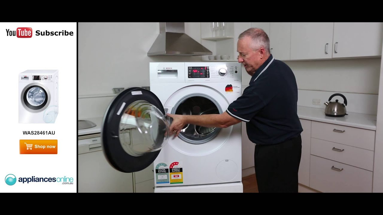 Was28461au 75kg Front Load Bosch Washing Machine Reviewed By Expert