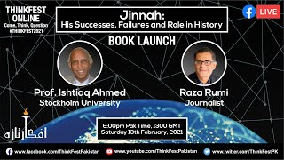 ThinkFest 2021: Book Launch: Jinnah: His Successes, Failures and Role in History