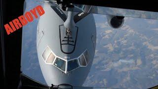 KC-135 Stratotanker Flight