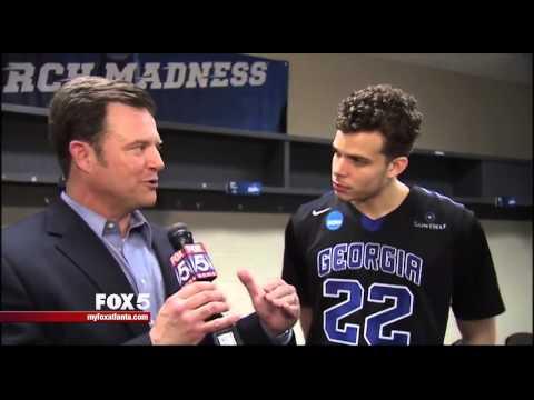 GSU Coach Hunter and son, RJ Hunter react to win