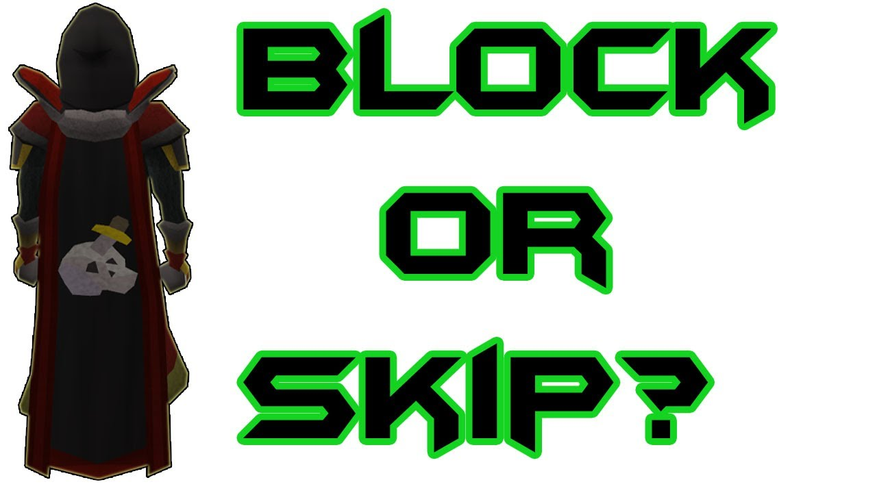 How do you block Runescape ?