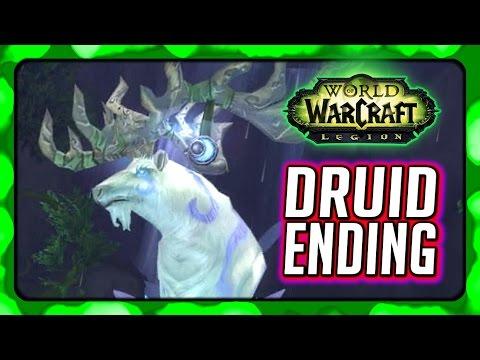 WOW Legion 🌟 Druid Campaign Ending - Saving Malorne from Archimonde!