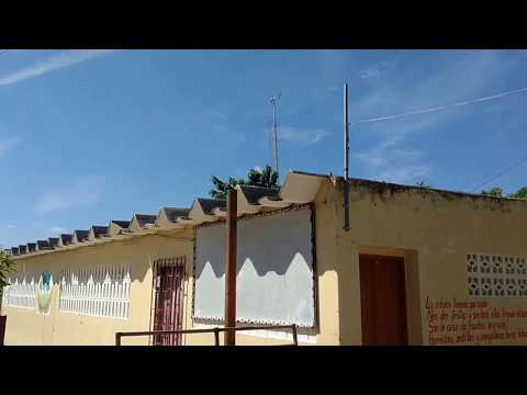 Solar powered desalination system in rural Colombia