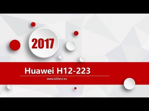 Huawei HCNP-R&S H12-223-ENU latest exam questions
