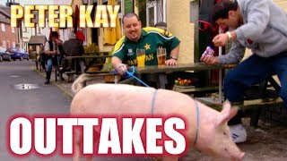 Pig Causes Havoc On Set! - Max & Paddy Outtakes | Peter Kay