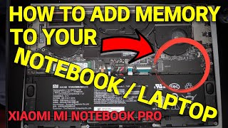 How to add an SSD to your Xiaomi Mi Notebook Pro
