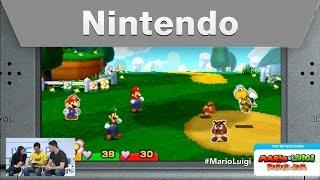 Nintendo Treehouse Live @ E3 2015 Day 1 Mario & Luigi: Paper Jam